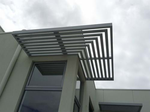 Baton Style Sunscreens are the ideal solution for privacy control