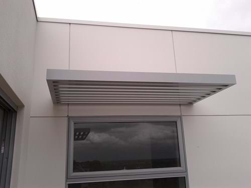 Baton Style Sunscreens used for sun shading, privacy screens and architectural louvre features