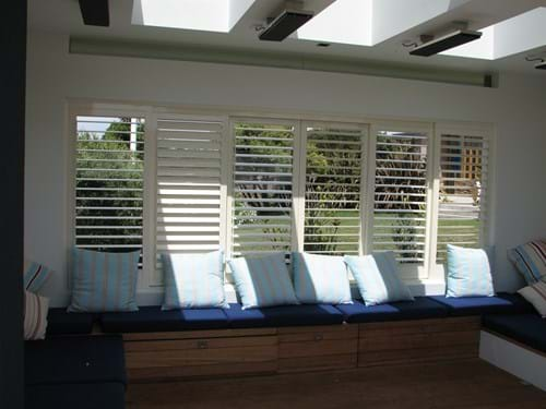 Classic Pivoting Louvre Blade Shutters Sliding and bifolding designs