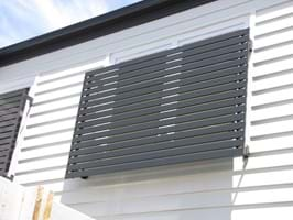 Bayside Privacy Screens install quality aluminium Baton Style Window Screens