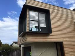 Bayside Privacy Screens offer installation of Aluminium window shrouds, Aluminium window hoods and Aluminium window boxes, servicing the Bayside area of Melbourne.