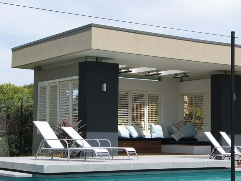 Bayside Privacy Screens, Pivoting Blade Shutter panels