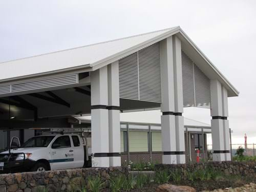 External Privacy Panels & Feature Screens by Bayside Privacy Screens