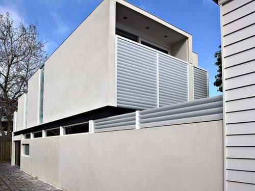 Louvre Blade Balcony Screens provide privacy and security