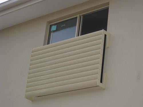 Louvre Blade Window Screens provide you with security