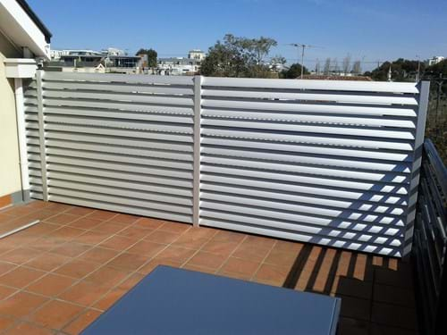 Bayside Privacy Screens Louvre Blade Balcony Screen