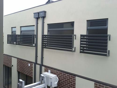 Bayside Privacy Screens will ensure high quality Fixed Louvre Blade Window Screens