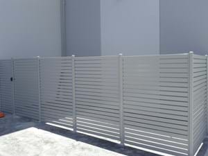 Baton Style Balcony Screens create the privacy you desire, by Bayside Privacy Screens